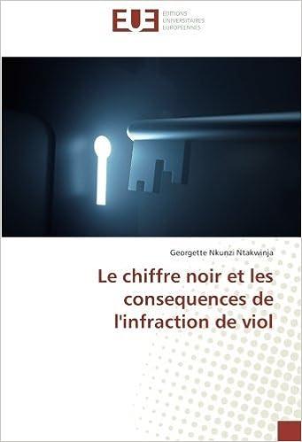 Download Online Le chiffre noir et les consequences de l'infraction de viol pdf, epub ebook