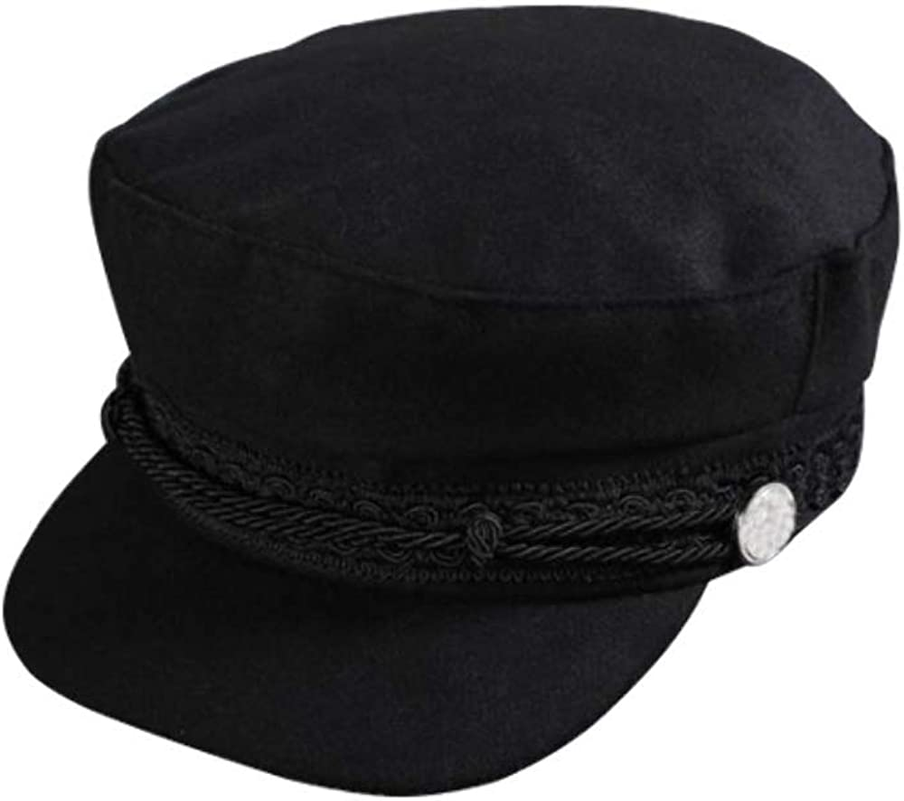 HauteButch Black Beret Newsboi