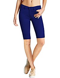 Womens Hyper Stretch Comfy Skinny Pants /Capri /Bermuda