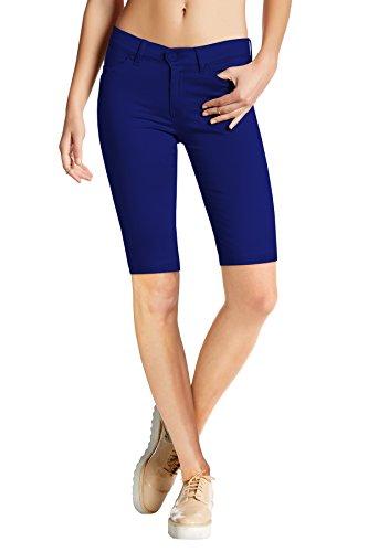 Royal Bermuda (Womens Perfectly Shaping Hyper Stretch Bermuda Shorts B44876X Royal 3X)