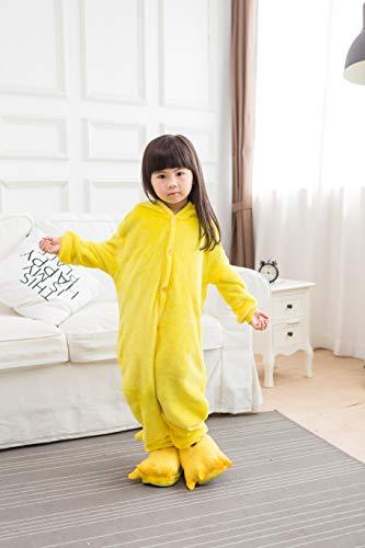 Homme Kids Fleece Onesie Pajamas Animal Christmas Cosplay Costume Pikachu