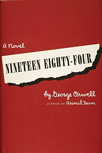 - Orwell Cover Of 1984 Nfront Jacket Cover 1949 For The First Us Edition Of George OrwellS Novel Nineteen Eighty-Four Poster Print by (18 x 24)