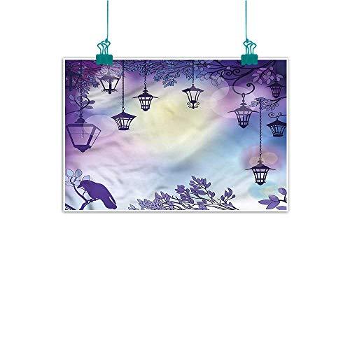Lantern,Bedroom Wall Decor W 36