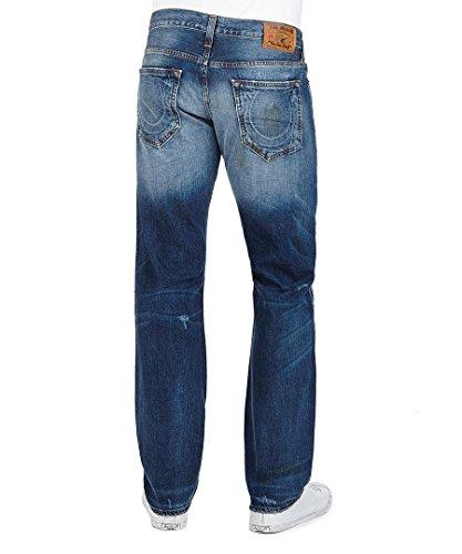 True Religion New Bobby Straight EM04 Herren Jeans