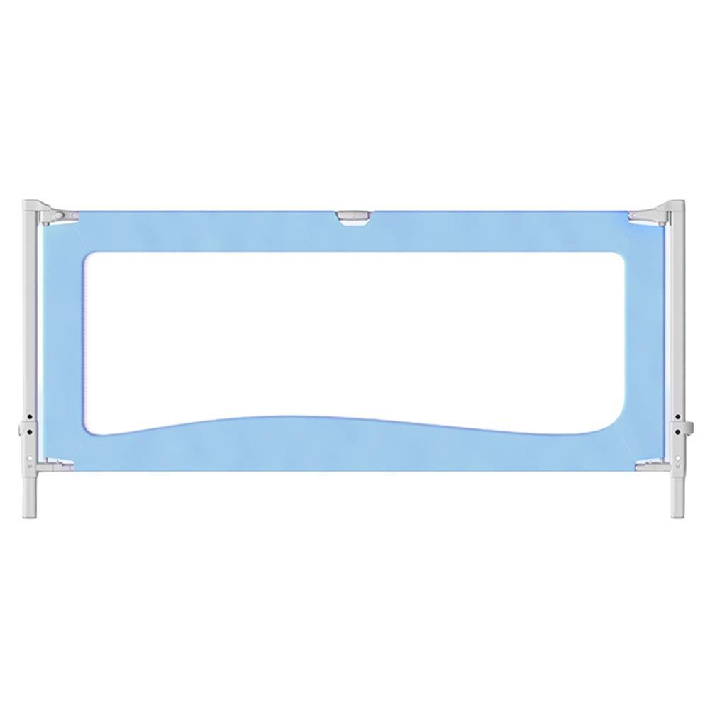 LIQICAI ベッドレール幼児用ベッドレールガード エクストラロング 折りたたみ キッズセーフティベッドガード 落ちるのをやめる、 4色、 3サイズ (色 : 青, サイズ さいず : 2.0M) 2.0M 青 B07RVMB4QH