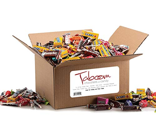 Assorted Bulk Candy, Individually Wrapped: 12 LB Box Variety Pack with Tootsie Rolls, Tootsie Pops, Jolly Ranchers, Assorted Laffy Taffy's & More! Great for Holiday and Party Treats