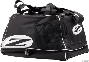 Zipp Speed Weaponry Zipp Gear Bag Blk with white piping by Zipp
