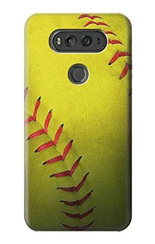 R3031 Yellow Softball Ball Case Cover For LG V20