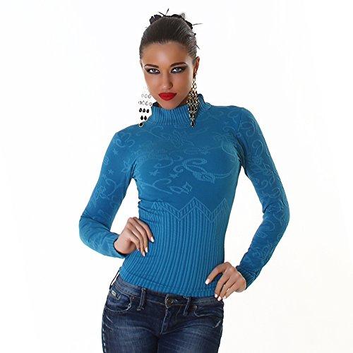 B[ ]X - Camisas - suéter - para mujer Azul