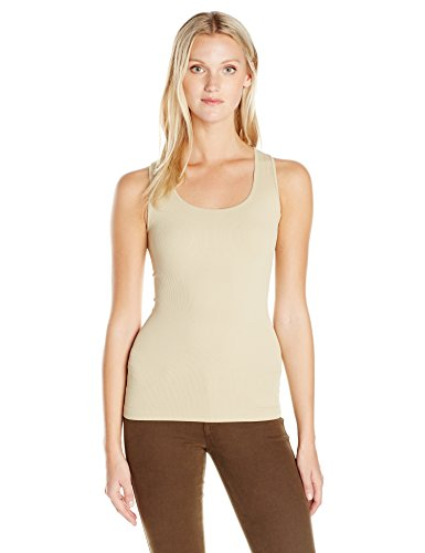 One Clothing Ribbed Tank Top - SUGARLIPS Women's Original Seamless Ribbed Tank Top, Skinnude, One Size