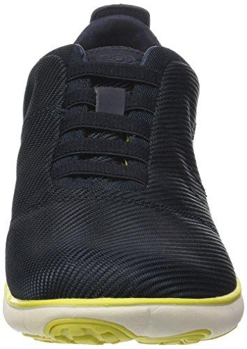 Geox Herren U Nebulosa F Sneaker Blau (navy)