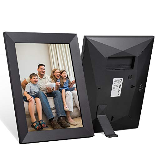 Photo Club 2K Smart Digital Picture Frame 10 Inch, 2048×1536 IPS Touch Screen FHD Display, Easy Setup to Share Photos…
