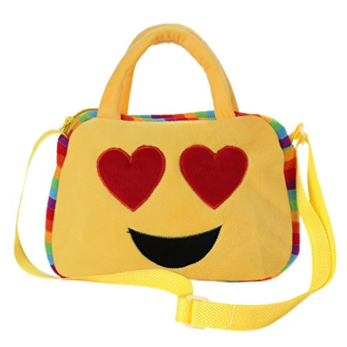 Rucksack Child 1 Satchel Emoticon Emoji Bag School New Villus Handbag Backpack Elevin TM B Kids Shoulder PqZ7xHEF
