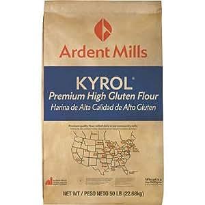 Amazon.com : Kyrol Premium High Gluten Flour 50 pound Bag