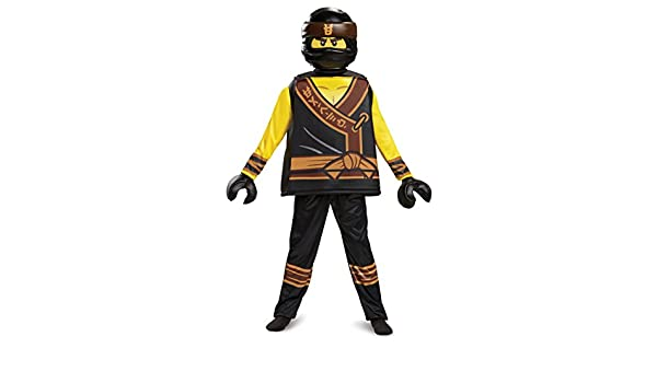 Amazon.com Disguise Cole LEGO Ninjago Movie Deluxe Costume Yellow/Black Small (4-6) Toys u0026 Games  sc 1 st  Amazon.com & Amazon.com: Disguise Cole LEGO Ninjago Movie Deluxe Costume Yellow ...