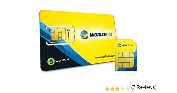 Tarjeta SIM de Datos de Todo el Mundo para Viajes, Vacaciones: Amazon.es: Informática