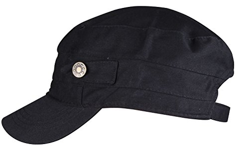 wdsky-black-newsboy-cap-black-summer-hat-flat-bill-caps-cotton-newsboy-cap-black
