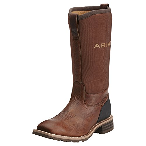 Ariat Men's Hybrid All Weather Western Cowboy Boot, Oiled Br