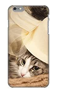 Quality Exultantor Case Cover With Animal Cat Nice Appearance Compatible With Iphone 6 Plus()