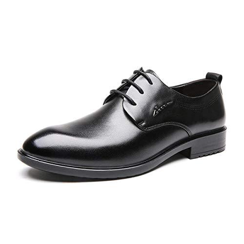 Business pour Cuir Chaussures Britanniques Chaussures 38 Adefg Suits Chaussures UE Cire en Lacets Hommes Vintage XLF Hommes De UHPWqq86