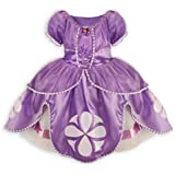 Disney Junior Sofia the First Deluxe Costume Dress Size Medium 7 / 8