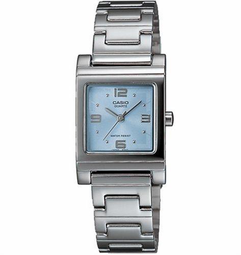 Casio LTP1237D-2A - Reloj de Pulsera Mujer, Acero Inoxidable, Color Plata