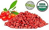 Ningxia Organic Dried Goji Berries 250g, Sun Dried, Health, Sulphur-free, without Additives (250g)
