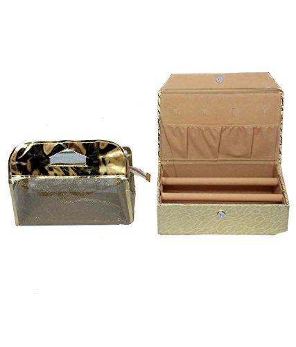 Kuber industrias Golden brazalete caja - Estuche para 2 ...
