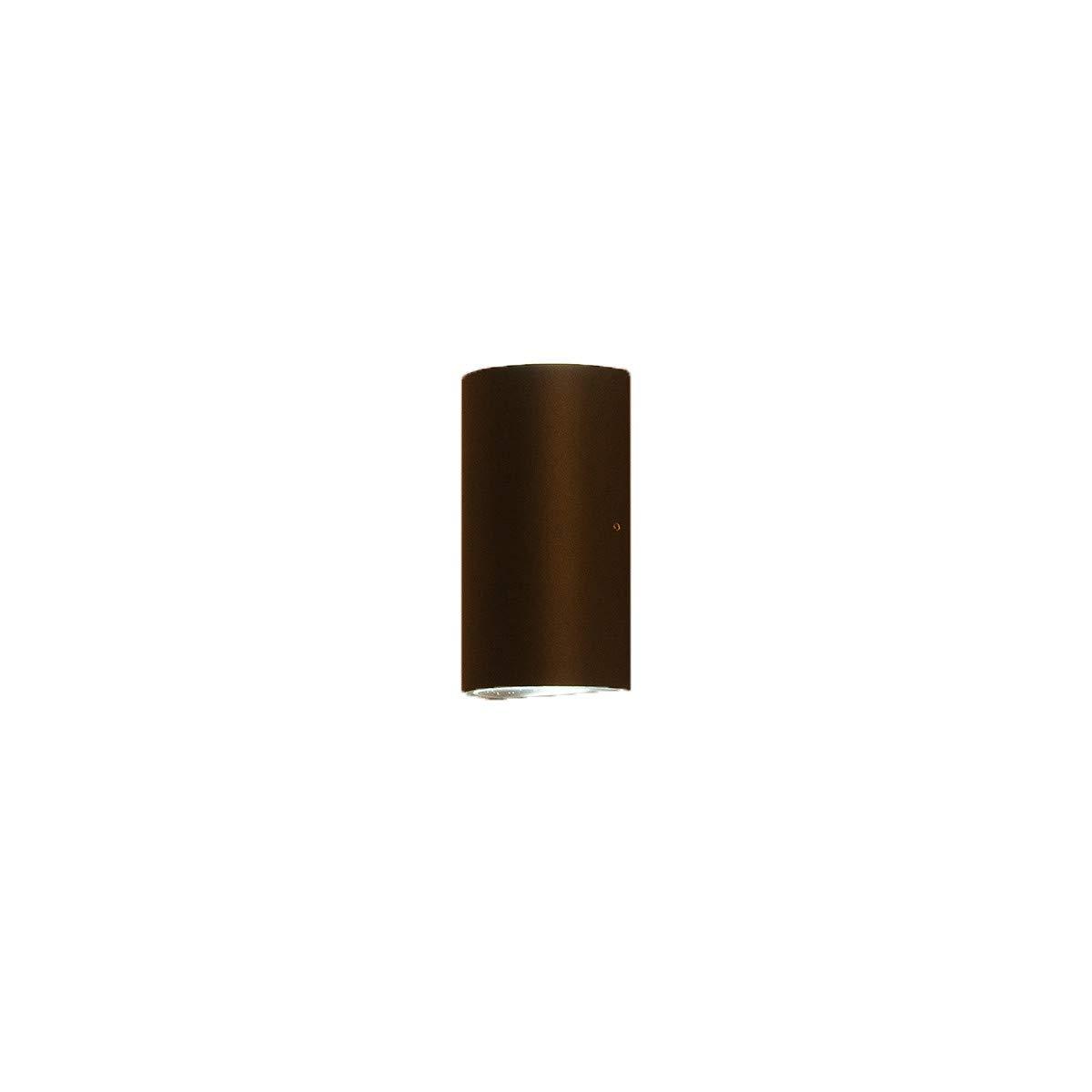 Wandleuchte einfache Außenwandleuchte wasserdichte LED-Innenleuchte Außenbalkon-Wandleuchte, schwarz