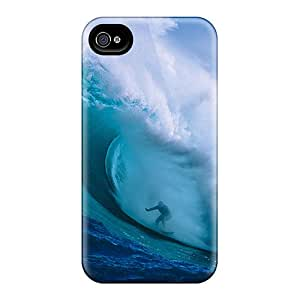 Ideal CloudTown Case Cover For Iphone 4/4s(amazing Wave), Protective Stylish Case