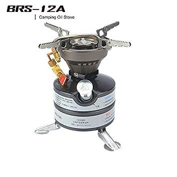 BRS-12 A gasolina estufa cocina estufa estufa de Camping estufa al aire libre 2 - 3 Operaciones de campo estufa de petróleo por Brs: Amazon.es: Deportes y ...