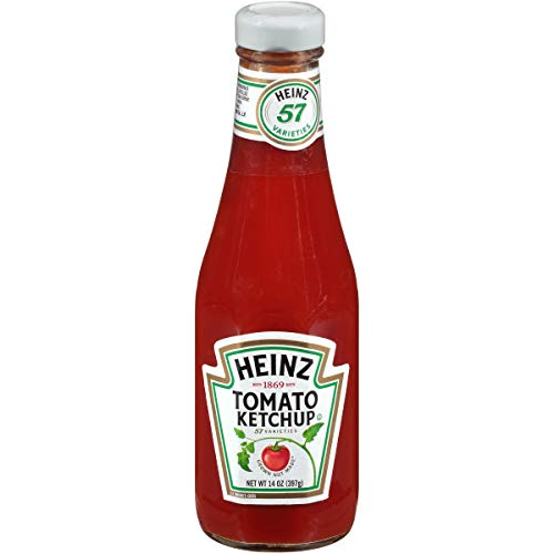 (Heinz Tomato Ketchup (14 oz Bottles, Pack of 24))