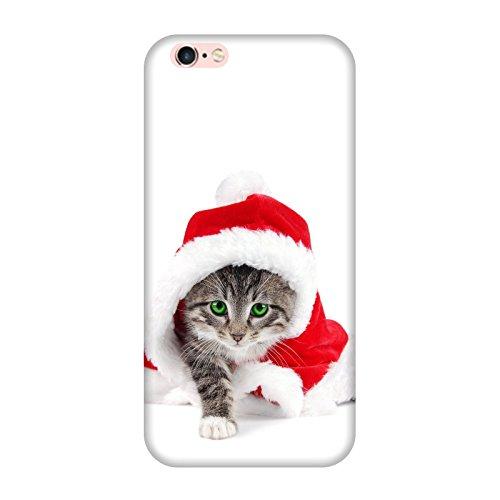 Coque Iphone 6-6s - Chat père Noël