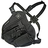 Coaxsher Radio Chest Harness Rig for 2 Way Radio, GPS and Hand Held Electronics | Ideal for Tactical Search and Rescue…