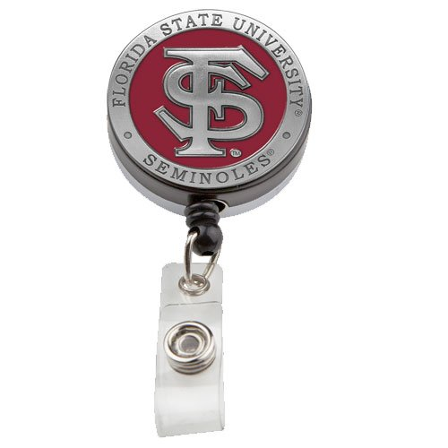 Heritage Pewter Florida State Seminoles #3 Badge - Badge Fsu Reel