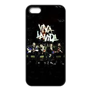 iPhone 5 5s Cell Phone Case Black Coldplay Band Members Iescv