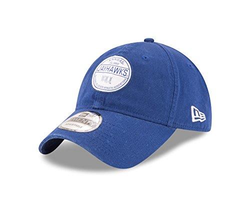 NCAA Kansas Jayhawks Adult Core Standard 9TWENTY Adjustable Cap, One Size, Royal