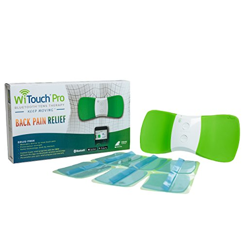 WiTouch Pro Wireless Bluetooth TENS - Includes 6 Gel Pads (3 Pairs of Gel Pads) by Hollywog (Image #7)