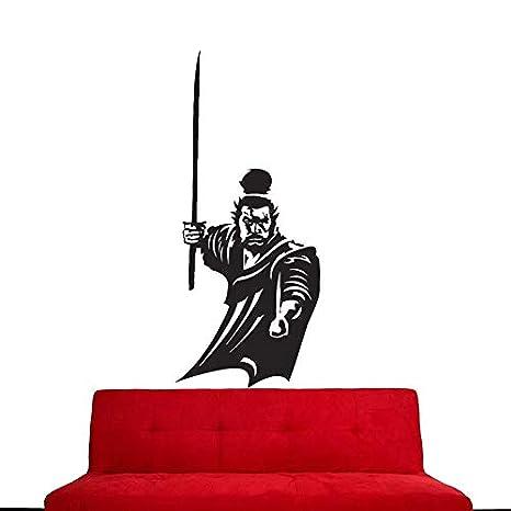 Kendo Sticker Samurai Calcomanía Japón Ninja Poster Vinilo ...