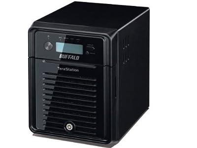 Buffalo TeraStation 5400RN Rack Mount 4-Bay 8 TB, 4 x 2 TB, RAID 1U Rack Mountable NAS and iSCSI Unified Storage by BUFC7