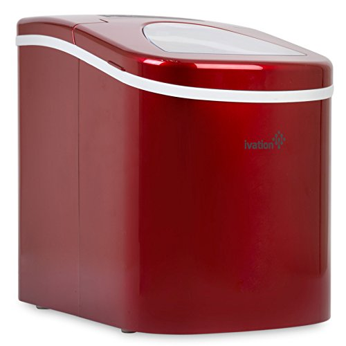Countertop Ice Maker Youtube : Ivation Portable Ice Maker w/ Easy-Touch Buttons for Digital Operation ...