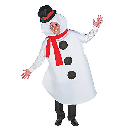 Adult Snowman Costume -