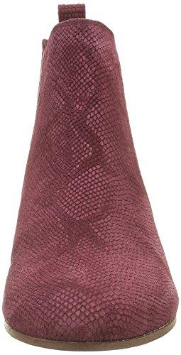 Bordeaux Bottes Bensimon Femme Python Chelsea Rouge F15245c798 485 0qvqw15