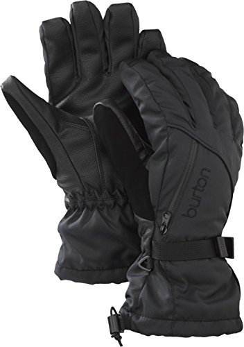 BURTON Women's Baker 2-in-1 Gloves, True Black, Medium