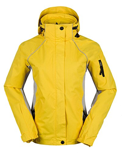 Jackets ZongSen in Yellow Hiking Lightweight Camping Jacket Outdoor Women's Keep Breathable Softshell 1 Warm Ski Coats 3 Fw4qrx1F