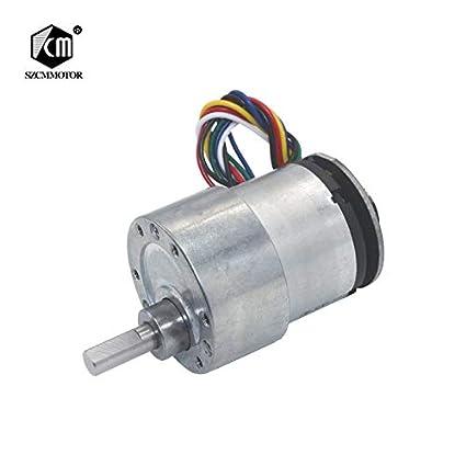 Fetcus Eccentric Shaft 37mm Diameter Geared Motors 12V 24V
