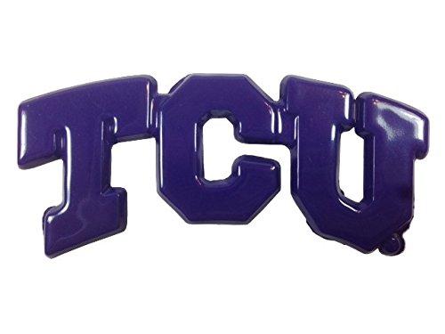 TCU in purple TCU METAL Auto Emblem AMG