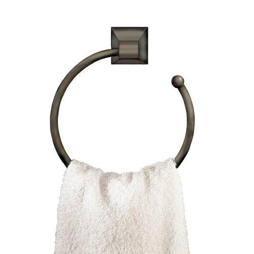 American Standard 2555.021.068 Town Square 7-Inch Diameter Towel Ring, Blackened Bronze by American Standard
