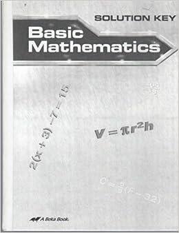 A Beka Basic Mathematics Student and Teacher Books New Current 7th Grade