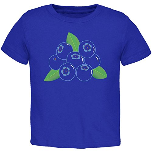 Halloween Fruit Blueberry Costume Toddler T Shirt Royal 3T ()